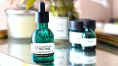 The Body Shop Tea Tree Daily Solution Serum Mampu Mengatasi Masalah Jerawat Diwajah